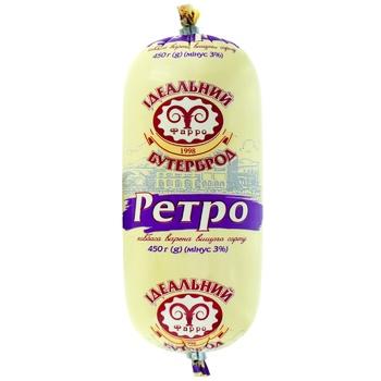 Farro Retro Boiled Sausage 450g - buy, prices for CityMarket - photo 1