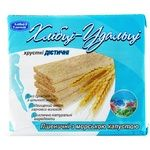 Crispbread Hlebtsy-udal'tsy wheat with sea cabbage for diabetics 100g packaged Ukraine