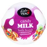 Бомбочка Dolce Vero Candy для ванн с молочными протеинами 75г - купить, цены на Фуршет - фото 1
