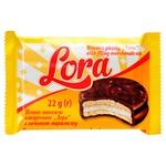 Печенье Lora с начинкой маршмеллоу 22г