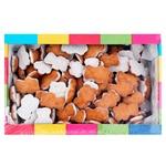 Friendy Mini Mishutka Milk Glazed Cookies 500g