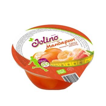 Jolino Mandarin Jele Red Orange Nectar Fruit Dessert 150g