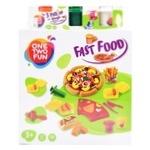 Набор для лепки One two fun Fast food