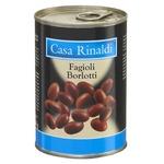 Casa Rinaldi Borlotti White Beans 400g