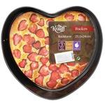 Форма для випічки Krauff роз'ємна серце 25,5х24x6,8см