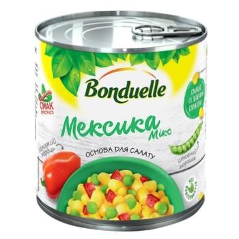 Овощная смесь Bonduelle Мексика Микс ж/б 425 мл - купить, цены на Ашан - фото 1