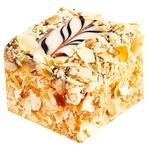 Пирожное Эстерхази с миндалем - купить, цены на Восторг - фото 1
