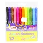 VGR Happy Kids Set of Felt-tip Pens 12 colors