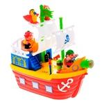 Набір ігровий Kiddieland Піратський корабель на колесах