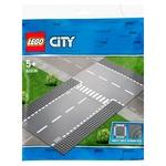 Конструктор Lego City Бокова і пряма дорога