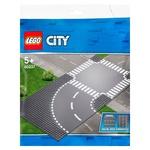 Lego City Curved & Crossroad Road Road Set