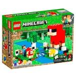 Lego Minecraft The Wool Farm Construction Set