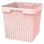 Корзина Plast team 6026.1 Seoul XL розовый
