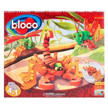 Bloco Scorpions & Isects Construction Set 162elements