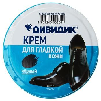 Dividik Classic Black Cream for Shoes 50ml - buy, prices for Tavria V - image 1
