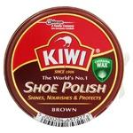 Крем для взуття Kiwi коричневий 50мл