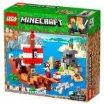 Конструктор Lego Minecraft Приключения на пиратском корабле