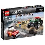 Конструктор Lego Speed Champions Mini Cooper S Rally и Mini John Cooper Багги