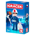 Igracek Firefighter with Accessories Toy Set