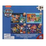 Spin Master Paw Patrol 4in1 Wooden Puzzle