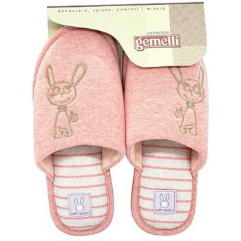Взуття домашнє Gemelli Зайка 1 жіноче