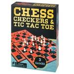 Игра настольная Spin Master Шахматы/шашки/крестики-нолики