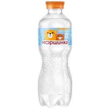 Morshynka non-carbonated for children from birth water 330ml - buy, prices for MegaMarket - image 1