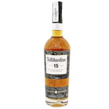 Tullibardine Whiskey 15y.o. Box 43% 0,7l - buy, prices for CityMarket - photo 2