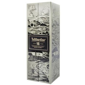 Tullibardine Whiskey 15y.o. Box 43% 0,7l - buy, prices for CityMarket - photo 1