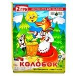 Игра настольная Киевская Фабрика Игрушек Колобок 2в1
