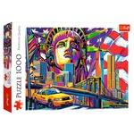 Trefl New York Paints Puzzle 1000elements