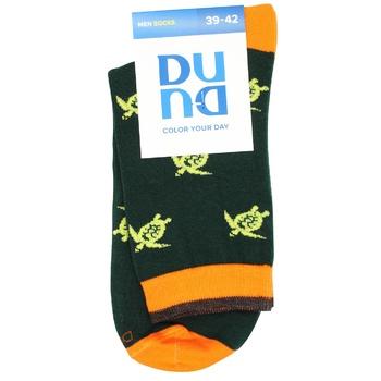 Шкарпетки чоловічі Duna 2193 р.25-27 темно-зелений - купити, ціни на CітіМаркет - фото 1