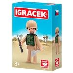 Igracek Soldier with Accessories Play Set