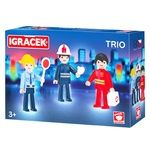 Igracek Lifeguard, Firefighter and Police Officer Play Set
