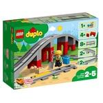 Конструктор Lego Duplo Железнодорожный мост и рельсы