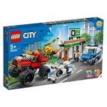 Lego City Police Monster Truck Heist Building Blocks