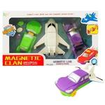 Keyu Magnetic Car and Plane Construction Set