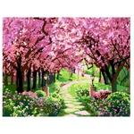 Набор Rosa Start Вишневый Сад для творчества картина по номерам 35х45см