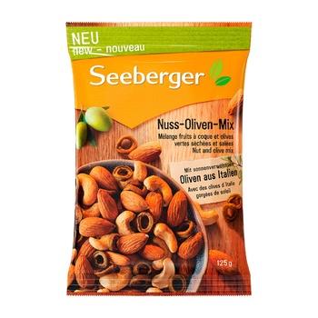 Суміш Seeberger Горіхи з оливками 125г - купити, ціни на МегаМаркет - фото 1