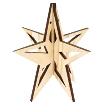 Rosa Talent Star Blank 9,8х9,5cm