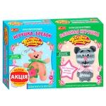 Набор для творчества Ranok-Creative Игрушка-брелок Медвежонок + Вязанная игрушка Котик
