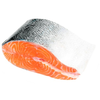 Salmon Piece with Skin