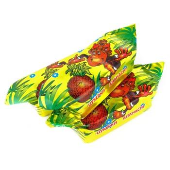 Конфеты Бисквит-Шоколад Ананасные