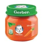 Gerber carrot puree 80g