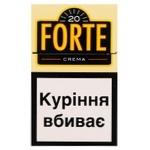 Сигареты Forte Crema