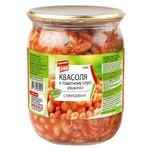 Квасоля Перший Ряд в томатному соусі 540г