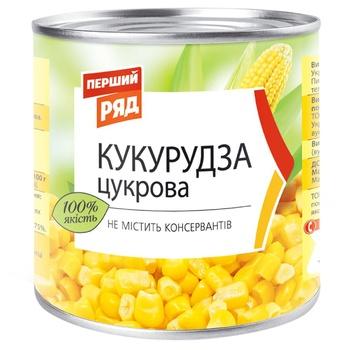 Кукуруза Первый Ряд сахарная 425мл 340г