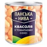 Фасоль Панська Нива в томатном соусе 440г