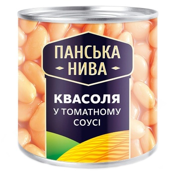Panska Nyva Beans in Tomato Sauce 440g - buy, prices for EKO Market - photo 1