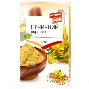 Pershyj Rjad Mustard Powder 100g - buy, prices for EKO Market - photo 1